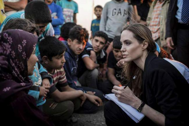 Failure to end crisis in Syria 'diminishes us all': UN refugees envoy Angelina Jolie
