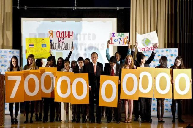 UN projects world population to reach 8.5 billion by 2030