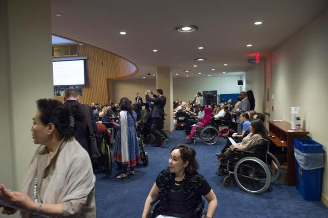 UN official urges action to reduce exclusion and discrimination disabled people
