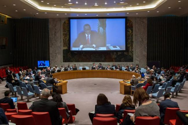 Security Council urges Libyan parties to come together to combat terrorists