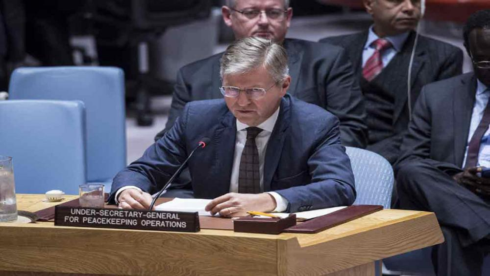 South Sudan's leaders must pull country back from 'impending abyss,' UN peacekeeping chief