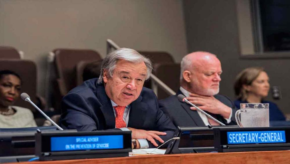 World needs to move beyond 'conceptual debate' and improve protection from atrocities, urges Guterres