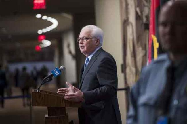 Long-time Russian Ambassador to UN, Vitaly Churkin, dies suddenly in New York