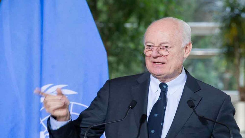 UN envoy urges Syrian parties to 'press ahead' after Astana talks suspended