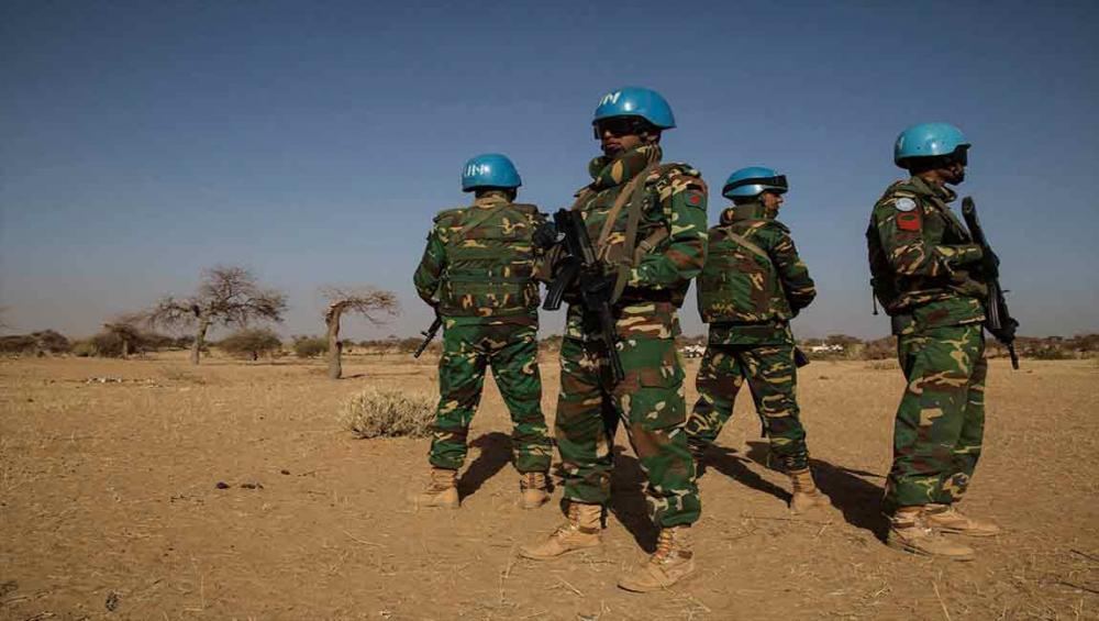 One UN peacekeeper killed, another injured in coordinated attack on mission base in central Mali