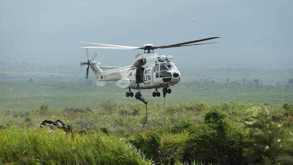 DR Congo: Two UN 'blue helmets' killed in attack in North Kivu