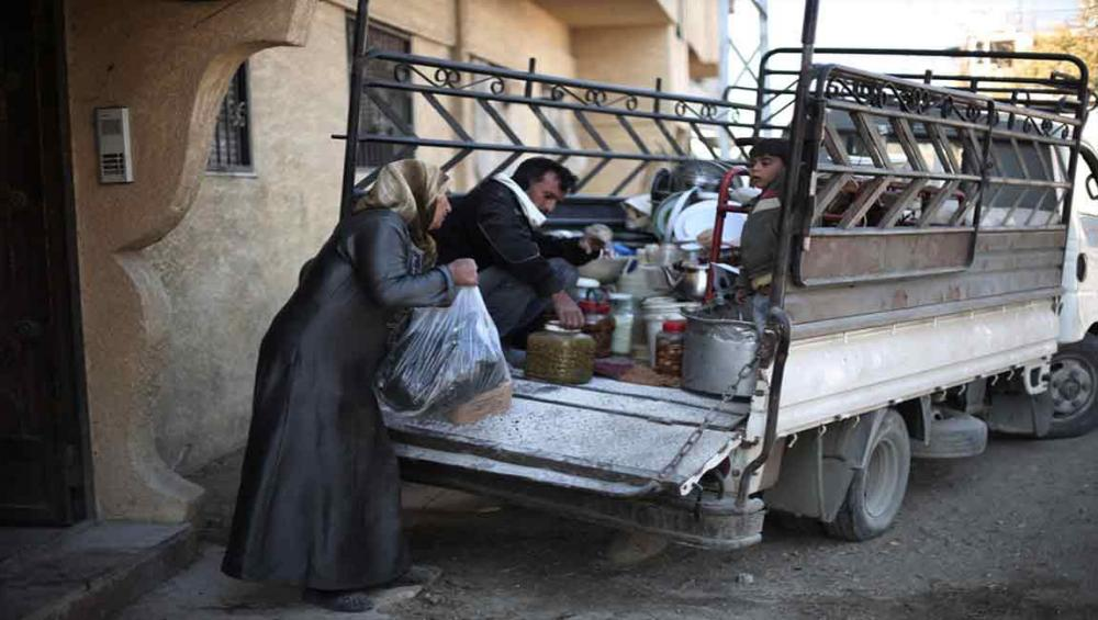 Suffering of 350,000 civilians in rural Damascus 'an outrage' – UN rights chief