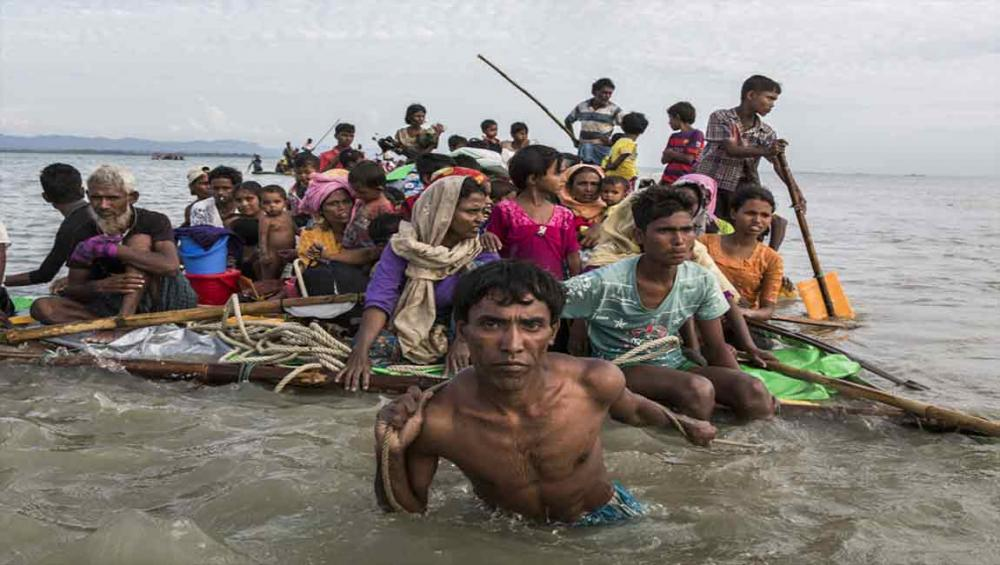 Desperate Rohingya refugees use home-made rafts to get to Bangladesh – UN