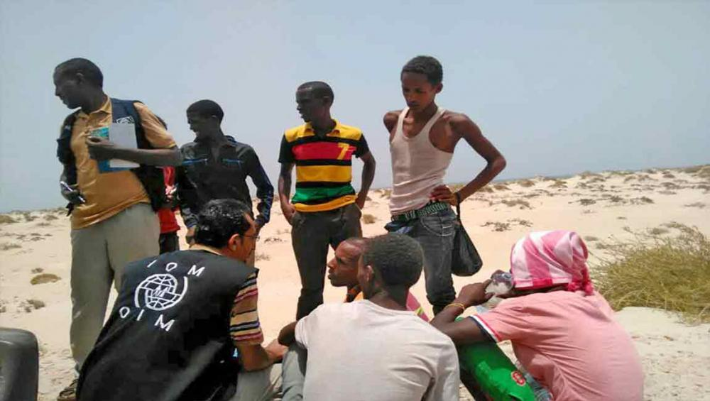 Smugglers throw 300 African migrants off boats headed to Yemen – UN agency