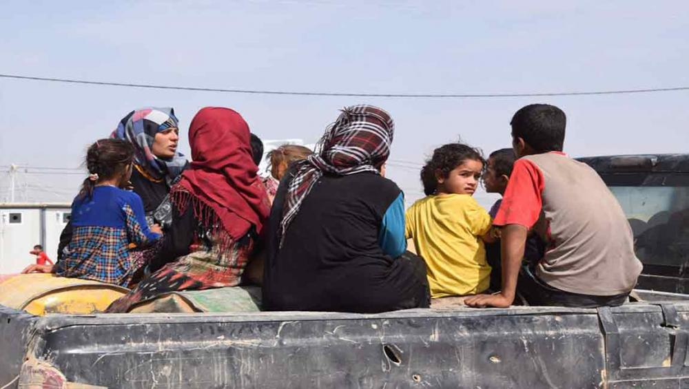 UN concerned for safety of more than five million displaced in northern Iraq