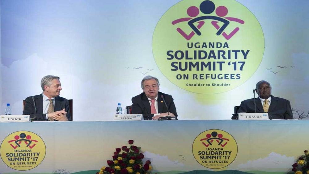 More than $350 million pledged for refugees in Uganda; 'A good start, we cannot stop,' says UN chief