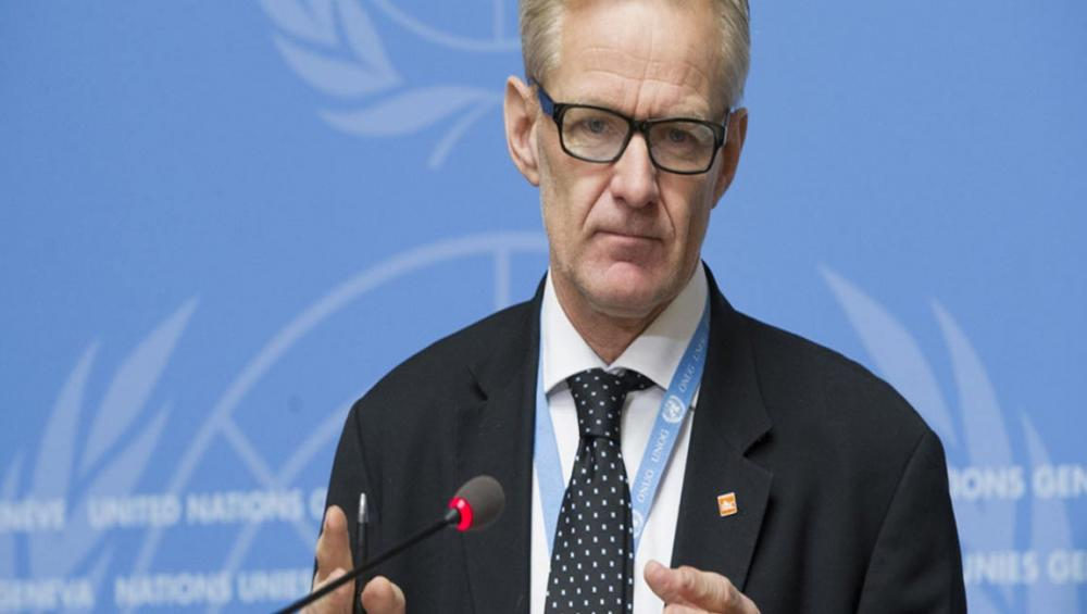 New Syria fighting represents 'giant powder keg', warns aid veteran, as he leaves UN stage