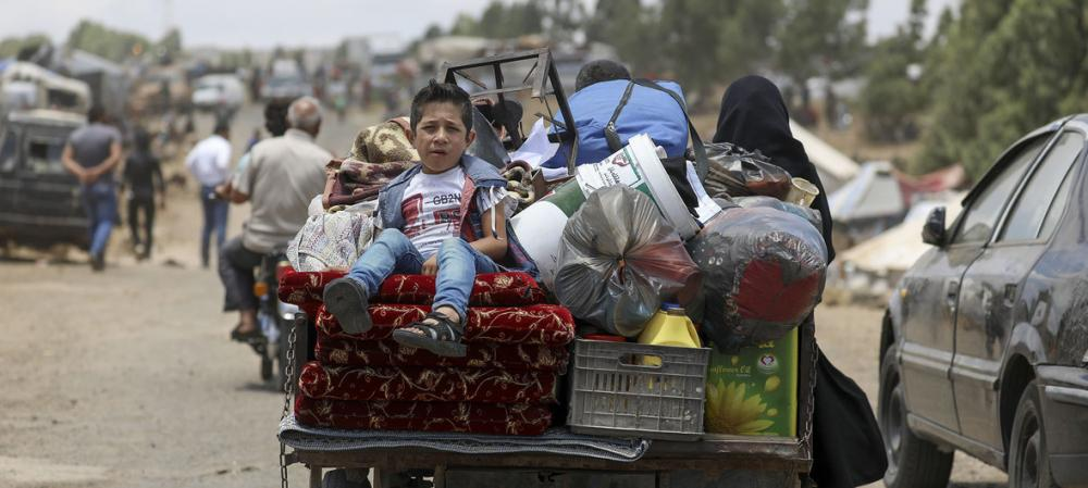 'Warehouses emptying' amid growing humanitarian needs in south-west Syria
