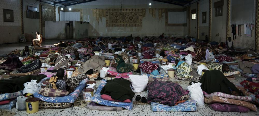 As Security Council imposes sanctions on six human traffickers in Libya, UN chief calls for more accountability