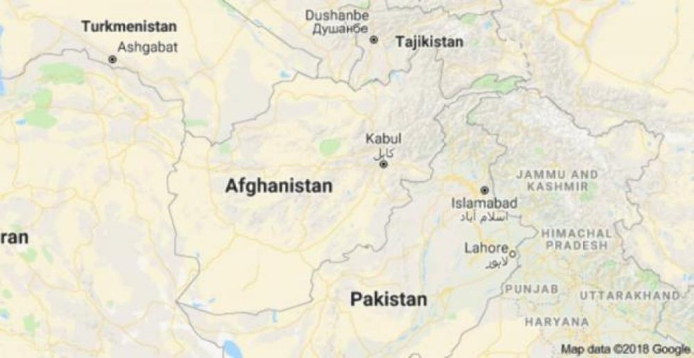 Bomb explosion in Afghanistan