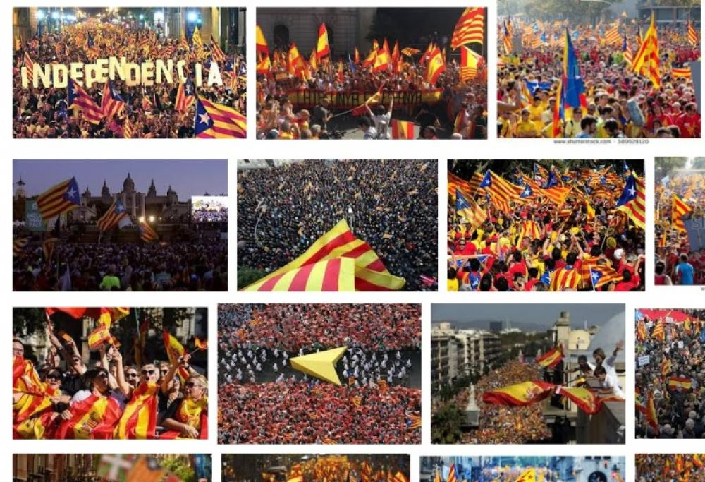 Million gather at Catalonia national day rally in Barcelona