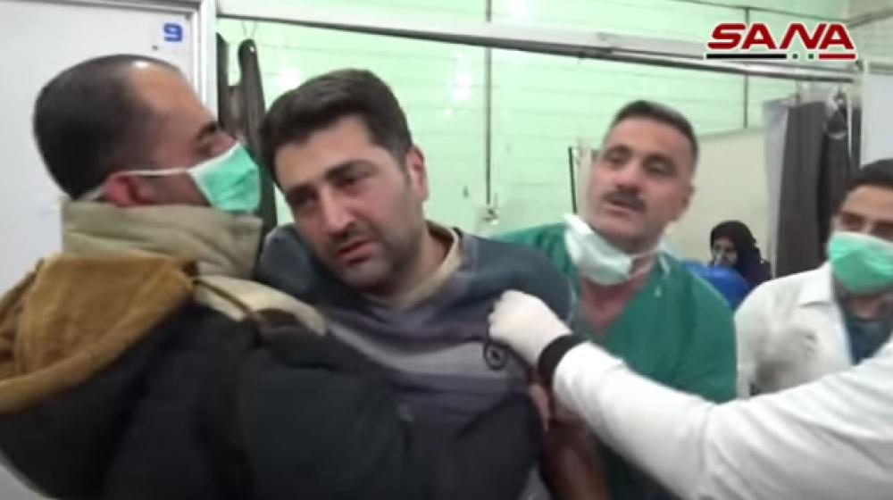 Toxic gas attack in Syria leaves over 100 people hospitalised