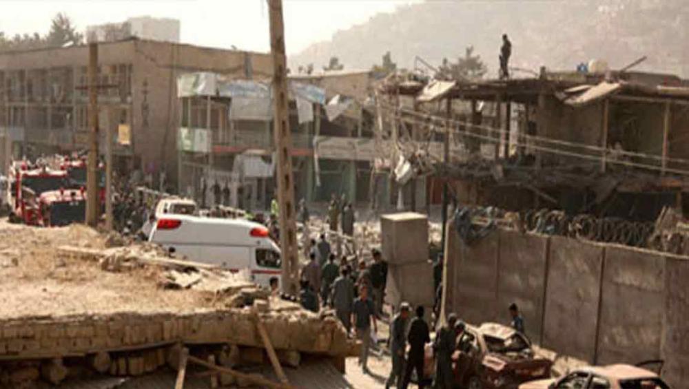 UN condemns attack that kills dozens near shrine in Kabul
