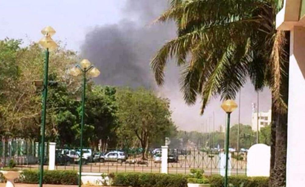 Armed men attack French embassy in Burkina Faso