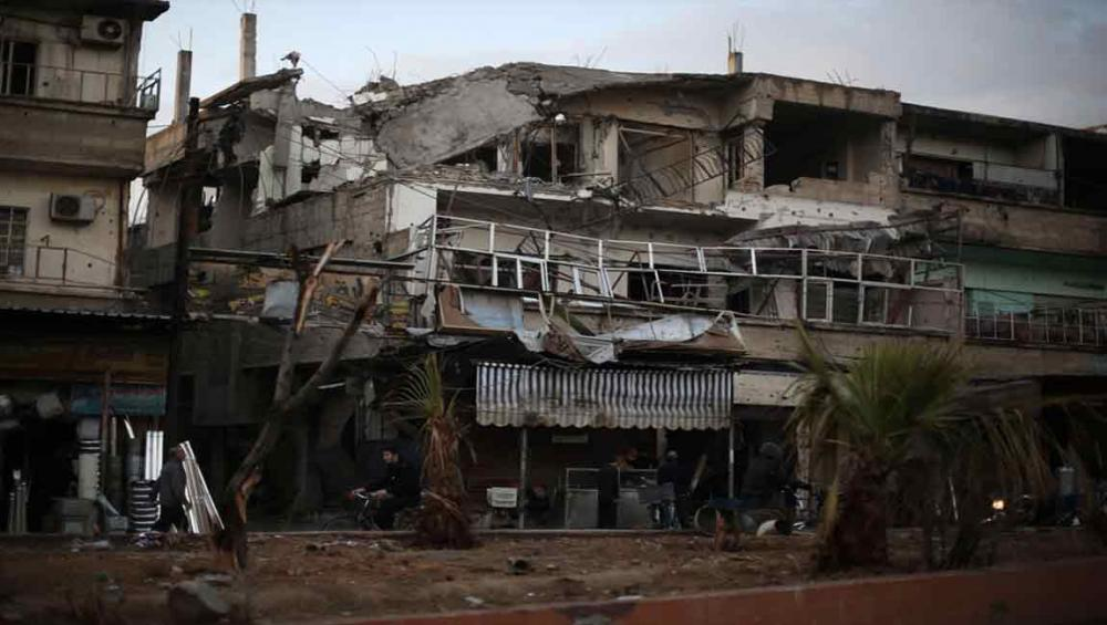 UN chief 'deeply alarmed' by escalating hostilities in Syria's east Ghouta