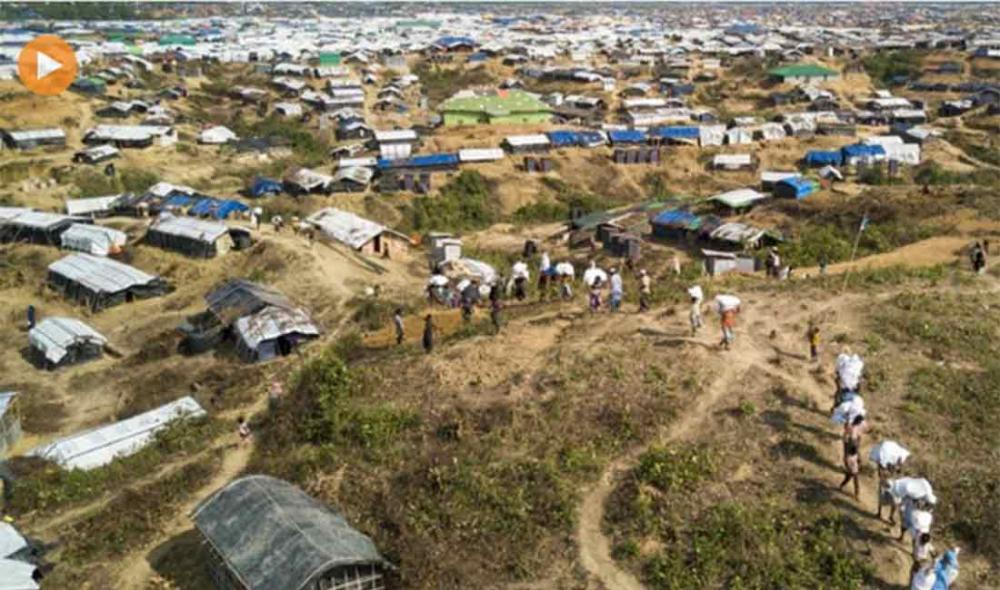 UN agencies helping Rohingya refugee camps brace for potentially devastating rains in southern Bangladesh
