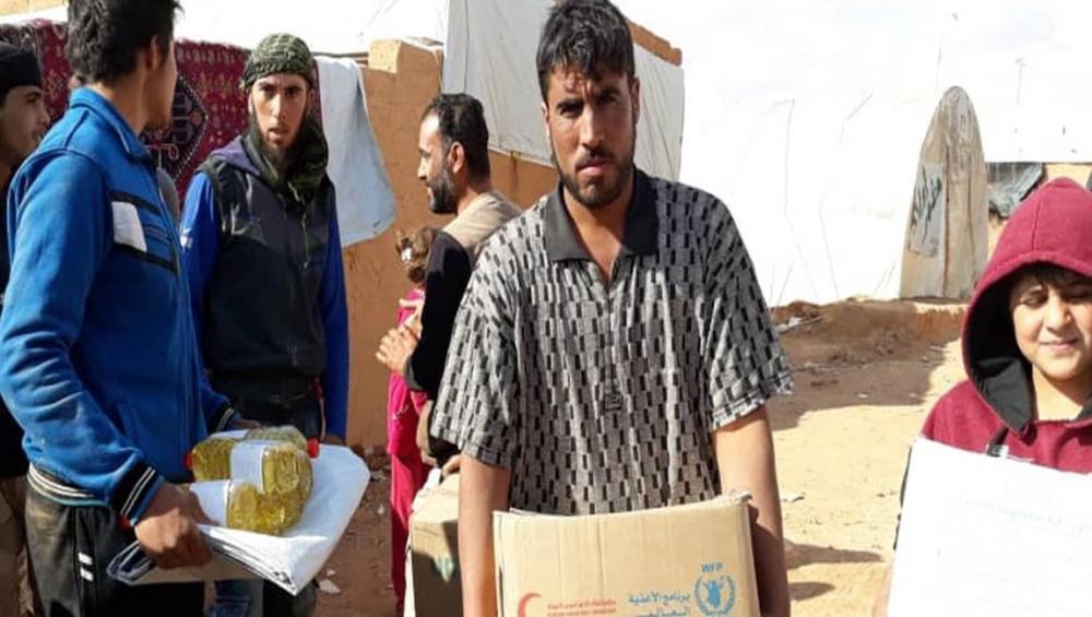 Senior UN adviser sees 'rare' victory for humanitarian diplomacy as aid convoy reaches desert camp in Syria