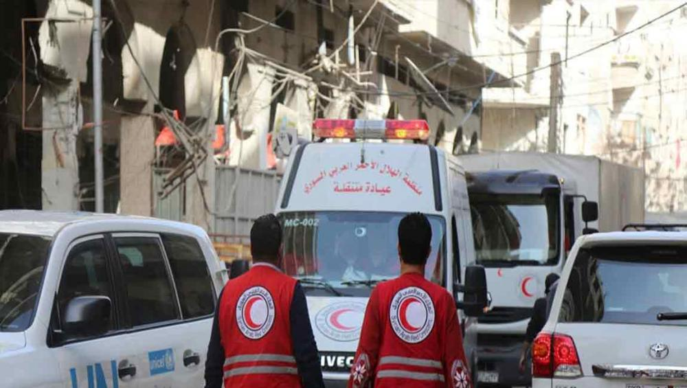 UN food relief agency and partners deliver much-needed aid to Syria's east Ghouta