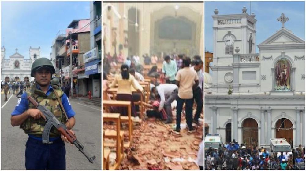Sri Lanka bombings: Police arrest school principal, teacher