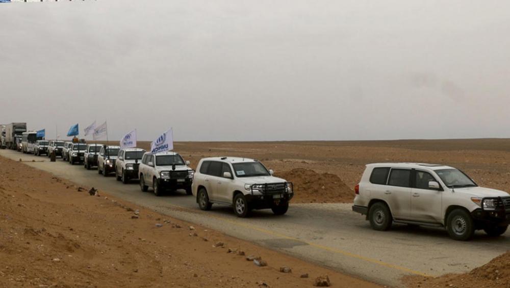 Biggest ever UN aid delivery in Syria provides relief to desperate civilians