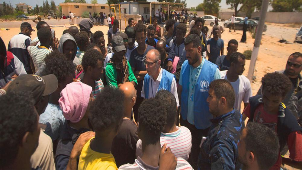 In aftermath of Libya airstrike deaths, UN officials call for refugees and migrants to be freed from detention