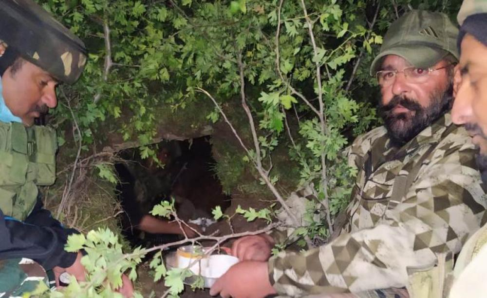 Indian security forces bust terrorist hideout in Jammu and Kashmir, LeT operative arrested