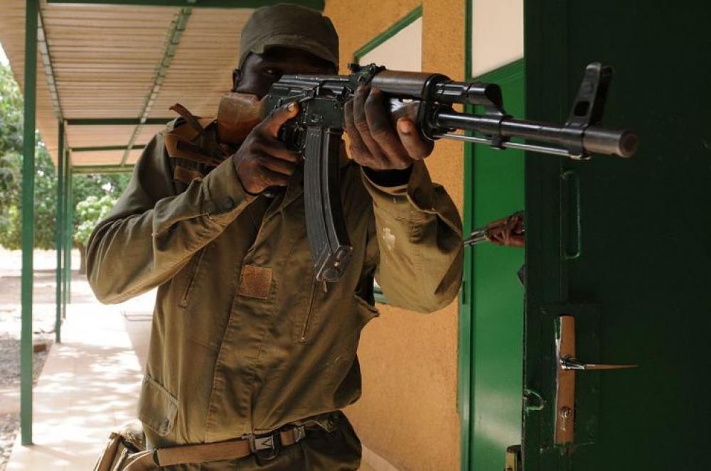 Five soldiers killed in roadside explosion in Burkina Faso