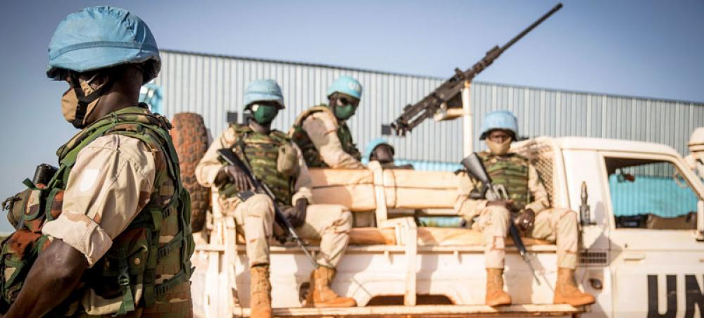 Four peacekeepers killed in complex attack on UN base in Mali