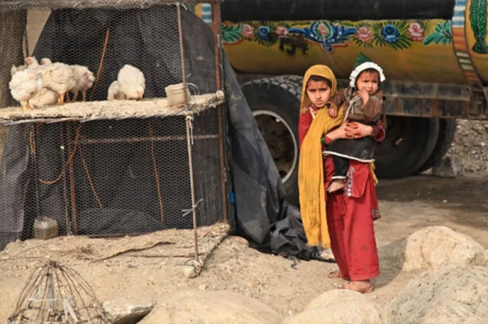 Afghanistan: Poverty forces displaced mother to sell infant to treat sick daughter