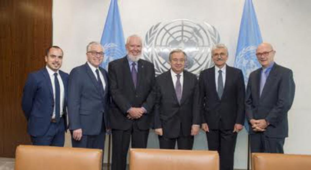 Secretary-General Meets Delegation of Foundation for European Progressive Studies