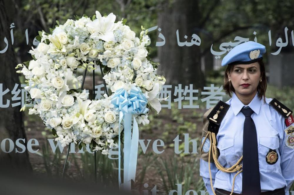 Wreath-laying Ceremony to Honour Fallen Peacekeepers