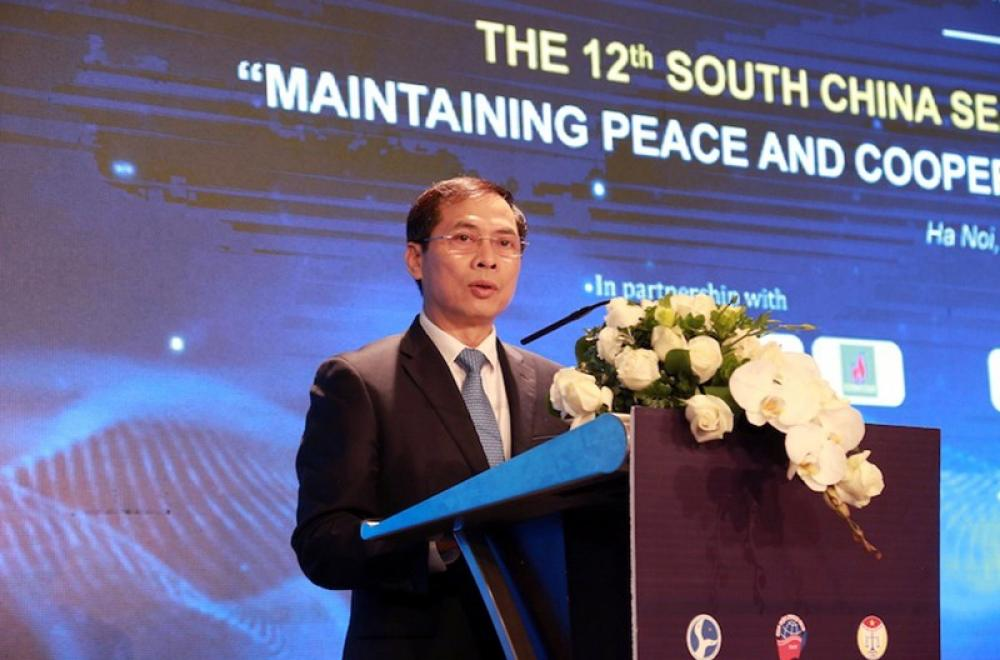 Vietnam's Deputy Foreign Minister addresses 12th South China Sea International Conference