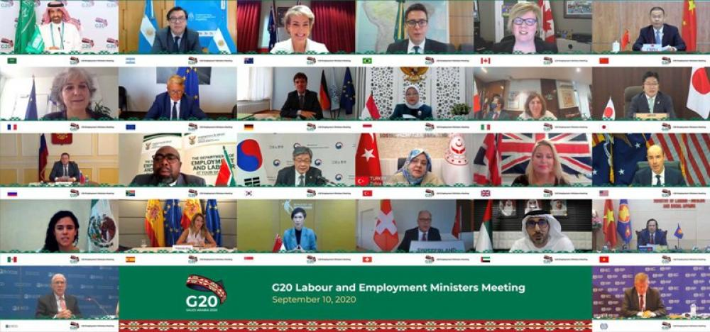 G20 labour and employment ministers attend virtual meeting