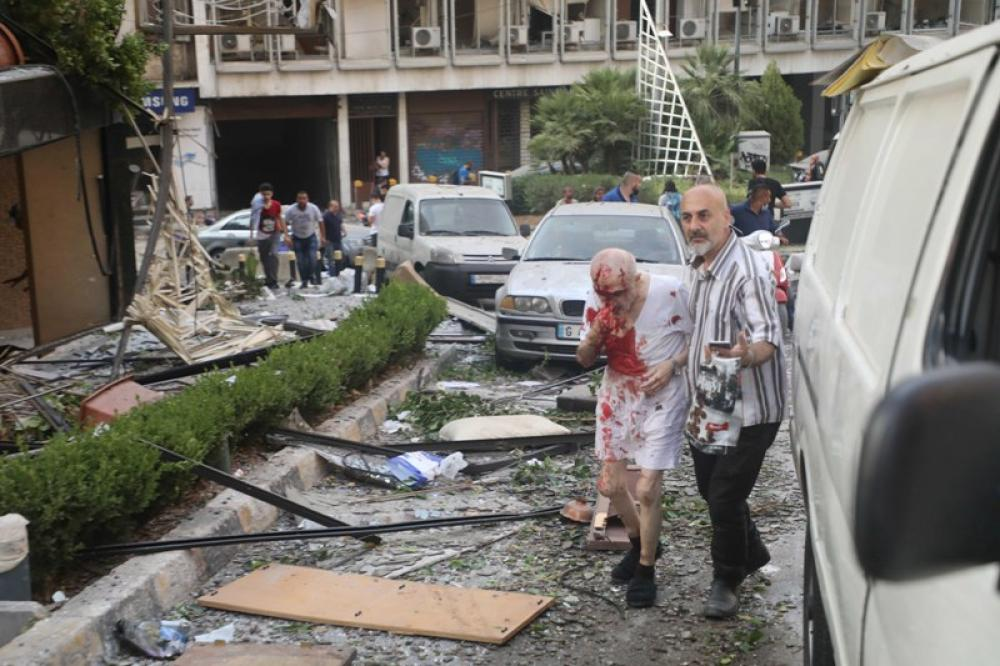 Blast in Lebanon's capital Beirut