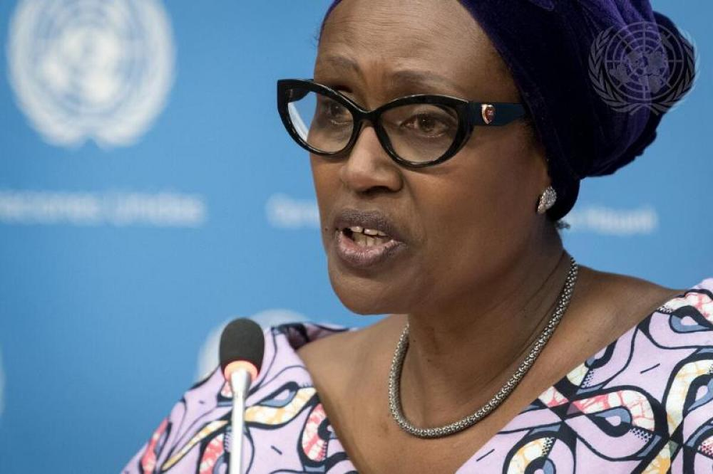 UNAIDS Executive Director Briefs Press on General Assembly Meeting on HIV/AIDS