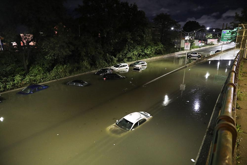 Hurricane Ida: Eight killed overnight in flash flooding in New York City and New Jersey