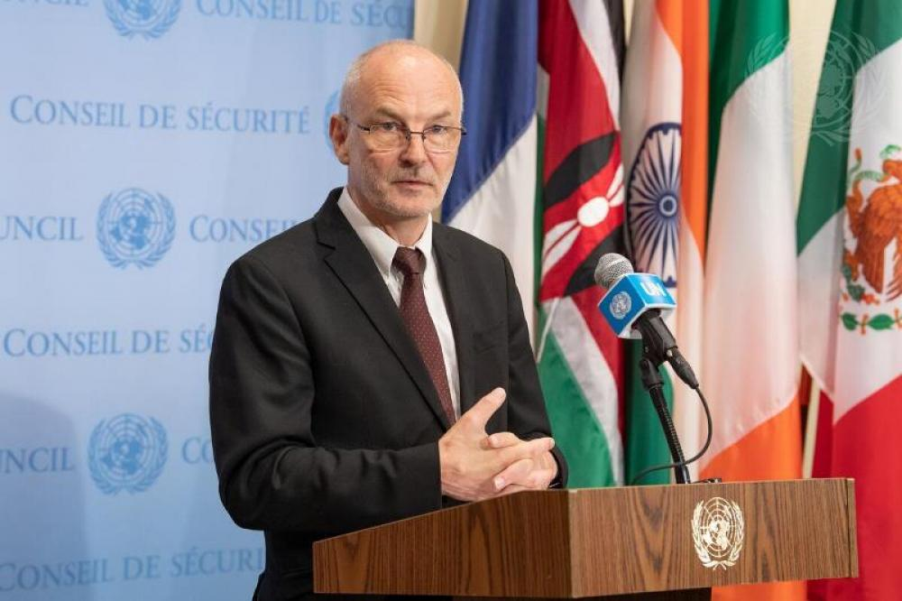 President of Security Council Briefs Press on Recommendation for Appointment of Secretary-General