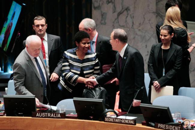 UNSC urges women's leadership for peacebuilding
