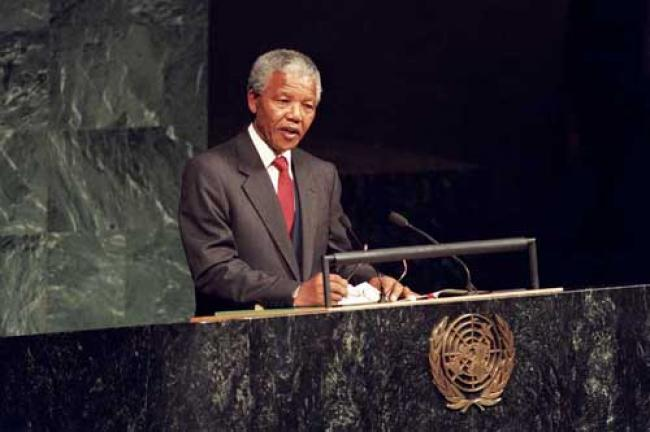 Nelson Mandela: The Rainbow Man