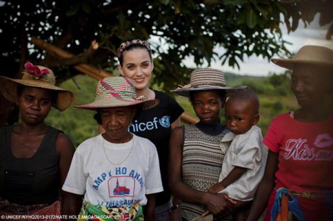 Global pop superstar lends voice to UNICEF
