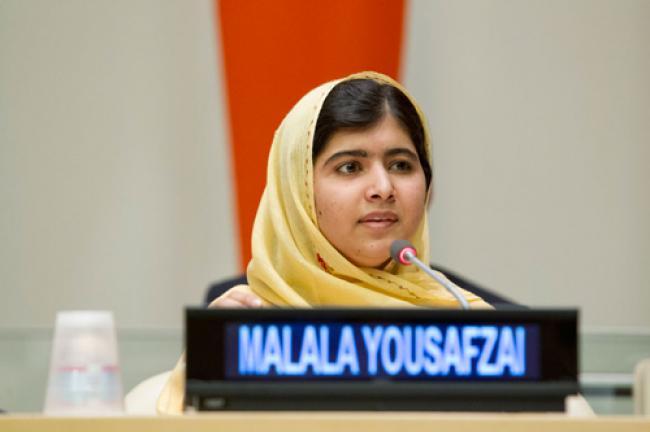 Malala Yousafzai receives 2013 UN human rights prize
