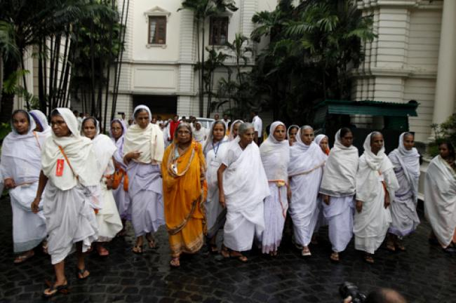 Emotional homecoming for Vrindavan widows