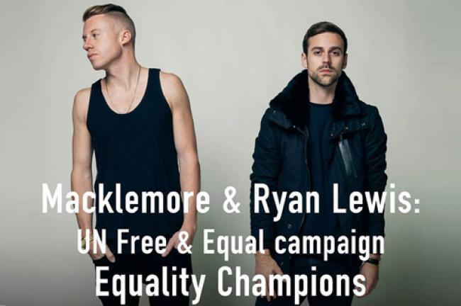 UN rights office names hip-hop duo as 'equality champions'