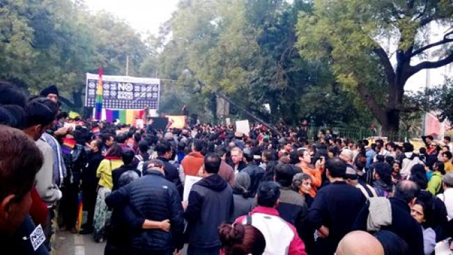 LGBT protests anti-gay sex verdict