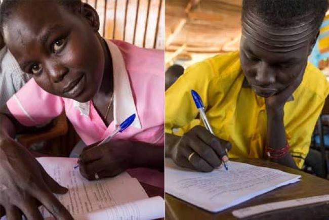 South Sudan: Displaced students take exams at UN